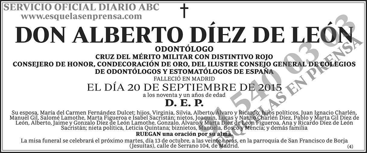 Alberto Díez de León